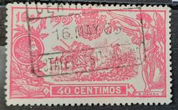 España N262 ( Precioso Centraje - Oblitérés