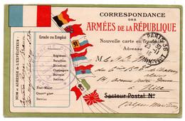 FRANCHISE MILITAIRE - CPFM - CORRESPONDANCE MILITAIRE - CAMP RETRANCHE DE PARIS - CARTE FM - 1915. - Cartes De Franchise Militaire