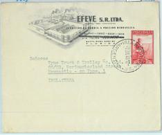 93954 - ARGENTINA - POSTAL HISTORY - ADVERTISING Cover To ENGLAND  1949  - Villa Martelli - Cartas
