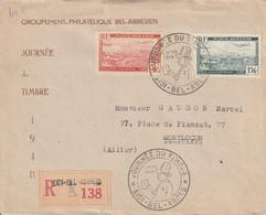 Algérie Lettre Recommandée Pour La France 1948 - Lettres & Documents