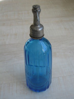 Magnifique Siphon Bleu G.JAMILLOUX TERRASSON    ***** EN ACHAT IMMEDIAT ***** - Otras Botellas