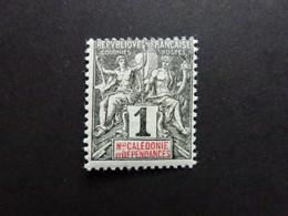 Nouvelle Calédonie N° 41 * (presque **) - Unused Stamps