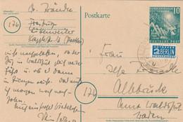Allemagne Entier Postal Freiburg 1950 - Postales - Usados