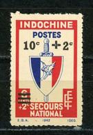 INDOCHINE RF - DIVERS - N° Yvert  283 (*) - Unused Stamps