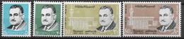 1970 Ägypten Mi. 1012-5**MNH   Tod Des Präsidenten Gamal Abdel Nasser - Neufs
