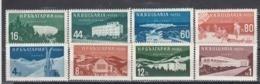 Bulgaria 1958 - Bulgarian Spa Homes And Places(1+2), Mi-Nr. 1048/51+1069/72, MNH** - Neufs