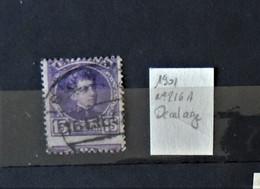 02 - 21  // Old Stamps - Espagne 1901 - N°216A - Variété Décalage De L'impression - Oblitérés