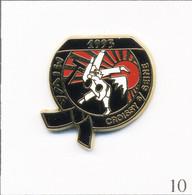 """Pin's Sport - Arts Martiaux / Club De Judo """"Miwa"""" De Croissy Sur Seine (78). Estampillé Boussemart. Zamac. T787-10 - Judo"""