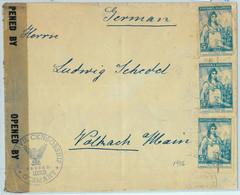 93962 - ARGENTINA - POSTAL HISTORY -  COVER  To  GERMANY 1946  CIVIL CENSOR - Cartas