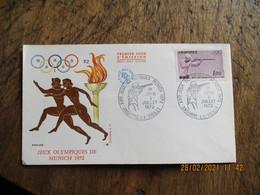 Olympics Games Jeux Olympiques Munich 1972 Tir Fusil Andorre - Summer 1972: Munich