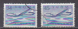 L6205 - FINLANDE FINLAND AERIENNE Yv N°5/6 - Used Stamps