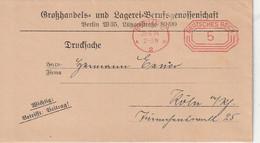 """Deutsches Reich - 1924 - Freistempel """"Berlin"""" Auf Brief (Drucksache) (1/340) - Marcofilie - EMA (Print Machine)"""