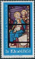 St. Pierre Et Miquelon 1986. Mi.#542 MNH/Luxe. Celebrations. Christmas (L38) - Neufs