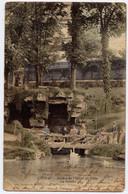 COGNAC , Jardin De L' Hôtel De Ville , La Grotte , + Cachet Au Dos EMILE BIAIS Musicien à Macqueville , 1903 - Cognac
