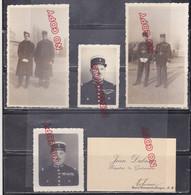 Au Plus Rapide Petite Archive Brigadier De Gendarmerie Volonne Alpes De Haute Provence Fin Des Années 40. - War, Military