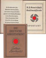 Deutsche Arbeitsfront DAF Jahressportkarte Ludwigshafen 1939 - Zonder Classificatie