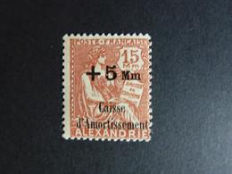 Alexandrie N° 83 Neuf ** Luxe Neuf Sans Charnière - Neufs