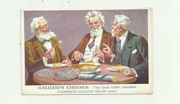 ITALIE - Publicité GALBANI 'S  CHEESES The Best Table Cheeses Caseificio Galbani Melzo Bon état - Otros