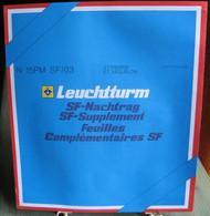 Leuchtturm - JEU ST PIERRE Et MIQUELON 2003 SF (Avec Pochettes) - Fogli Prestampati