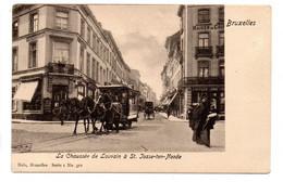 La Chaussée De Louvain à St.Josse-ten-Noode (tram à Chevaux) Nels 1, 322 - St-Joost-ten-Node - St-Josse-ten-Noode