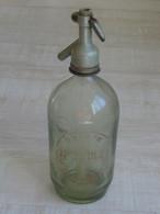 Siphon Blanc - Motifs étranger - à Identifier  ***** EN ACHAT IMMEDIAT ***** - Other Bottles