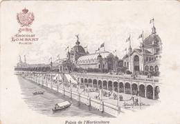 Chromo : Chocolat - LOMBART : Exposition Universelle De 1900 : PARIS : Palais De L'Horticulture - Lombart