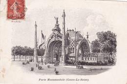 Chromo : Chocolat - LOMBART : Exposition Universelle De 1900 : PARIS : Porte Monumentale ( Cours La Reine ) - Lombart
