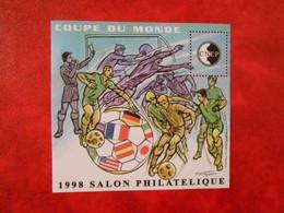 FRANCE BLOC-FEUILLET DE LA CNEP N°26 - COUPE DU MONDE DE FOOTBALL** - CNEP