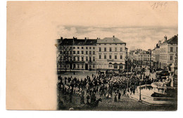 Bruxelles: Porte De Namur Carnaval 1899 - Laeken