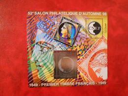 FRANCE BLOC-FEUILLET DE LA CNEP N°28 - 150e ANNIVERSAIRE DU 1er TP** - CNEP