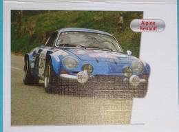Petit Calendrier De Poche 2012 Voiture Alpine Renault Coiffeur Coiffure Franconville - Klein Formaat: 2001-...