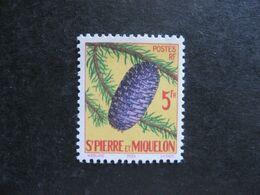 A). Saint Pierre Et Miquelon: TB N° 359, Neuf X. - Neufs