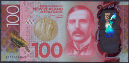 New Zealand 100 Dollars 2016 UNC Polymer P-195 - New Zealand