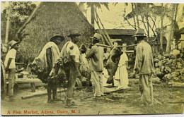 C. P. A. : GUAM : A Fish Market, AGANA - Guam