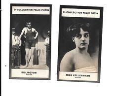CP75 - CHROMOS  FELIX POTIN 2ème COLLECTION - NATATION - ANNETTE KELLERMANN - DAVID SIDNEY BILLINGTON - Swimming