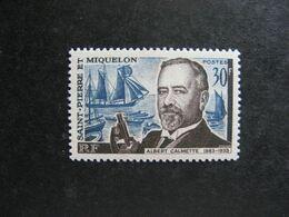 A). Saint Pierre Et Miquelon: TB N° 368, Neuf X. - Neufs