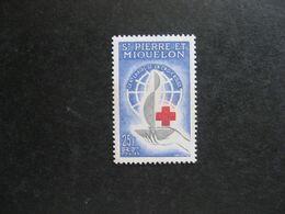 A). Saint Pierre Et Miquelon: TB N° 369, Neuf X. - Neufs