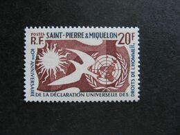 A). Saint Pierre Et Miquelon: TB N° 358, Neuf X. - Neufs