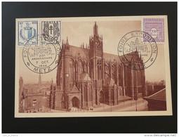 Carte Postcard Foire Exposition Metz 1948 - Lettres & Documents