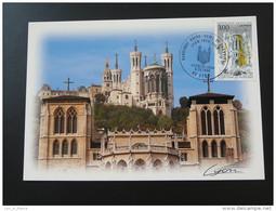 Carte Maximum Maximum Card Basilique Notre Dame De Fournière Lyon 1996 - 1990-99