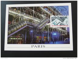 Carte Maximum Maximum Card Centre Georges Pompidou Paris 1997 - 1990-99