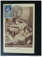 Carte Maximum Card Pour La Natalité Salon De L'enfance 1946 - 1940-49