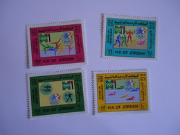 JORDAN    MINT    STAMPS  OLYMPIC GAMES LOS ANGELES 1984  2SCAN - Jordania