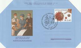 Citta Del Vaticano 2020 - Aérogramme - I Martire E Gli Eroi Del Coronavirus - COVID-19 FDC - Usados