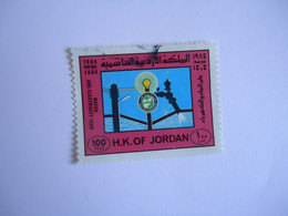 JORDAN    USED    STAMPS  ANNIVERSARIES - Jordania