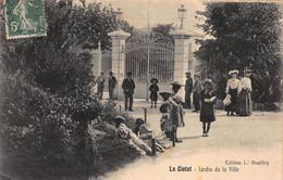 CPA La Ciotat - Jardin De La Ville - La Ciotat