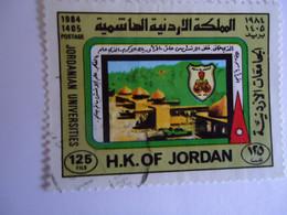 JORDAN    USED    STAMPS  PAINTIGS - Jordania