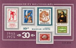 Die Erfolgreichsten Ungarischen Briefmarken Der Letzten 30 Jahre Mi Block 114 A   1975 - Blocks & Sheetlets