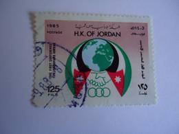 JORDAN    USED    STAMPS  ANNIVERSARIES SPORTS - Jordania