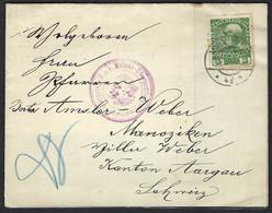AUTRICHE 1916: LSC De Vienne Pour La Suisse, Censure Militaire Autrichienne - Cartas